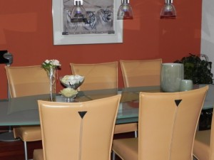 Dining room - copyright © Heidi Reitmair